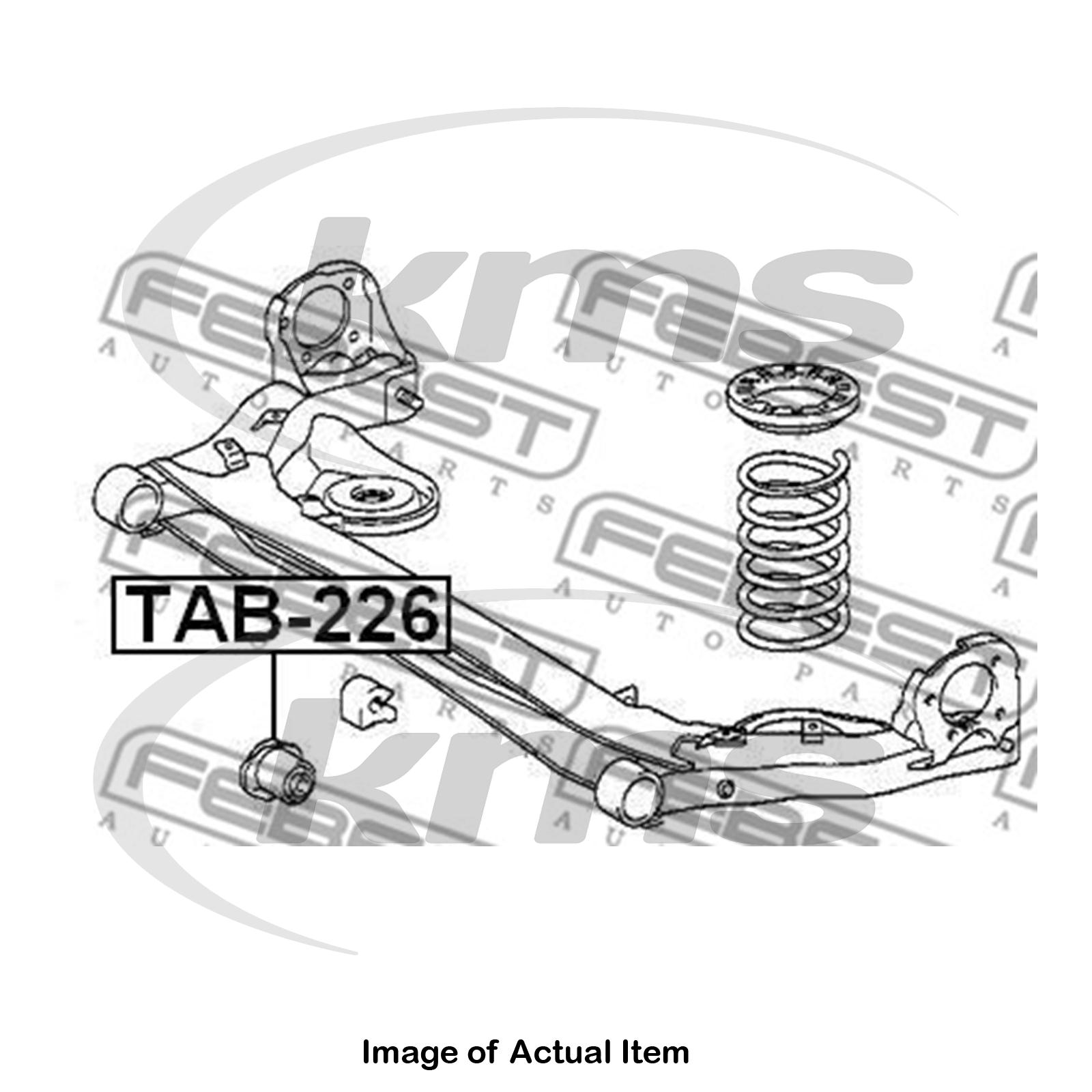 New Genuine FEBEST Axle Beam Mounting TAB-226 Top German Quality