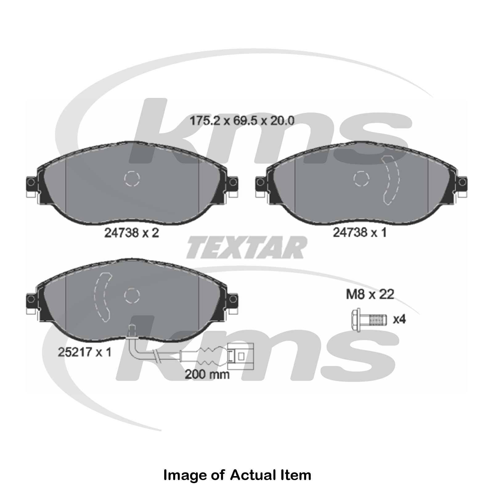 GENUINE Mintex Front Brake Pad Set MDB3173 5 YEAR WARRANTY BRAND NEW