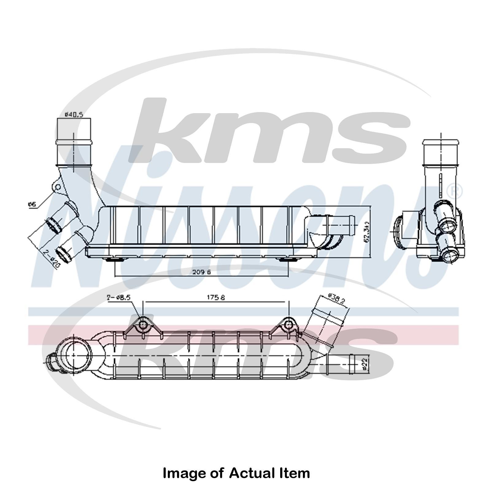 New Genuine Nissens Engine Oil Cooler 90976 Top Quality Audi 2000 2 8l Diagram Sentinel Thumbnail