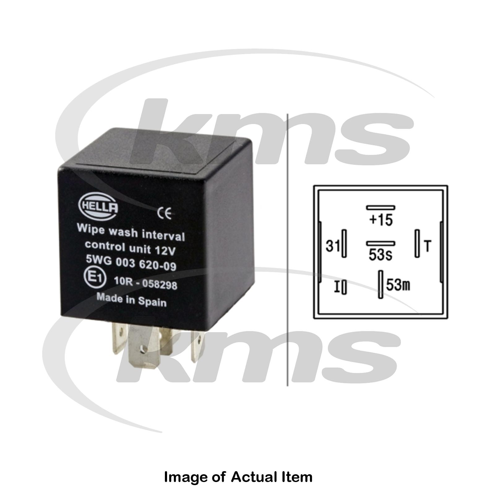New Genuine Hella Wipe Wash Interval Relay 5wg 003 620 097 Mk4 Top Mosquito Repellent Circuit Schematic Sentinel German Quality