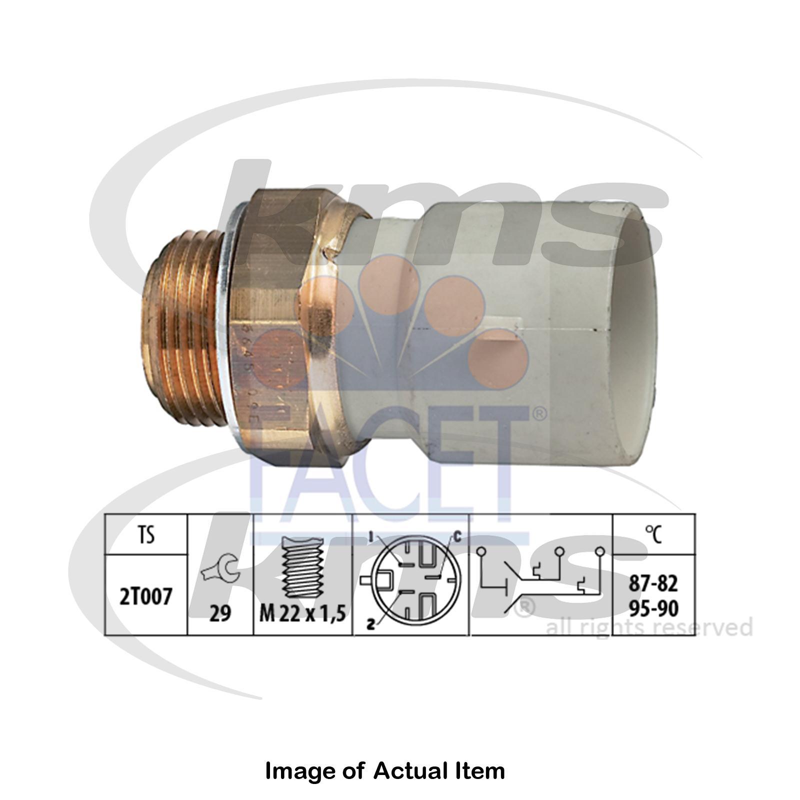 Facet 7.5645 Temperature Switch radiator fan