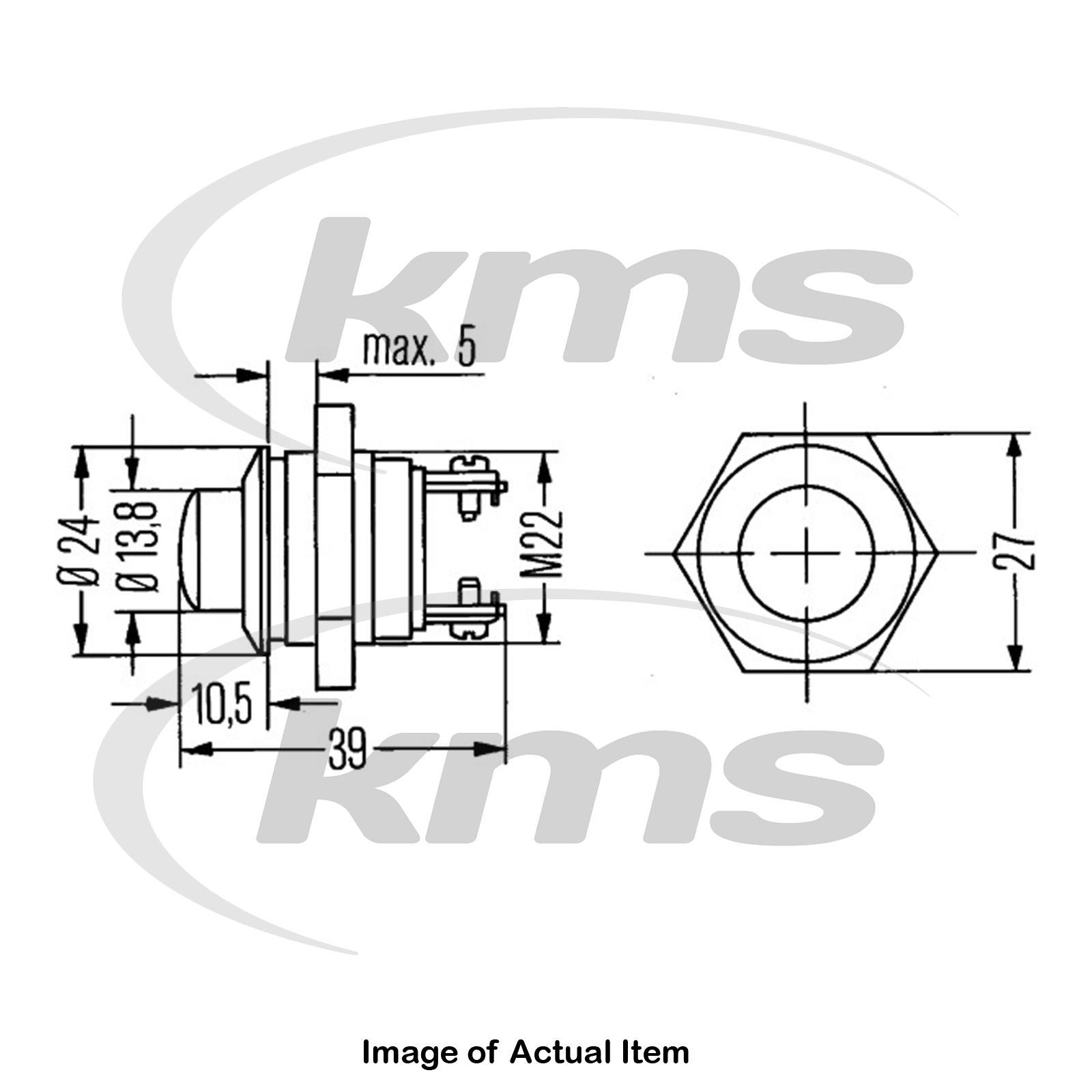New Genuine Hella Ignition Starter Switch 6jf 001 571 Top German Liebherr Key Wiring Diagram Sentinel Quality