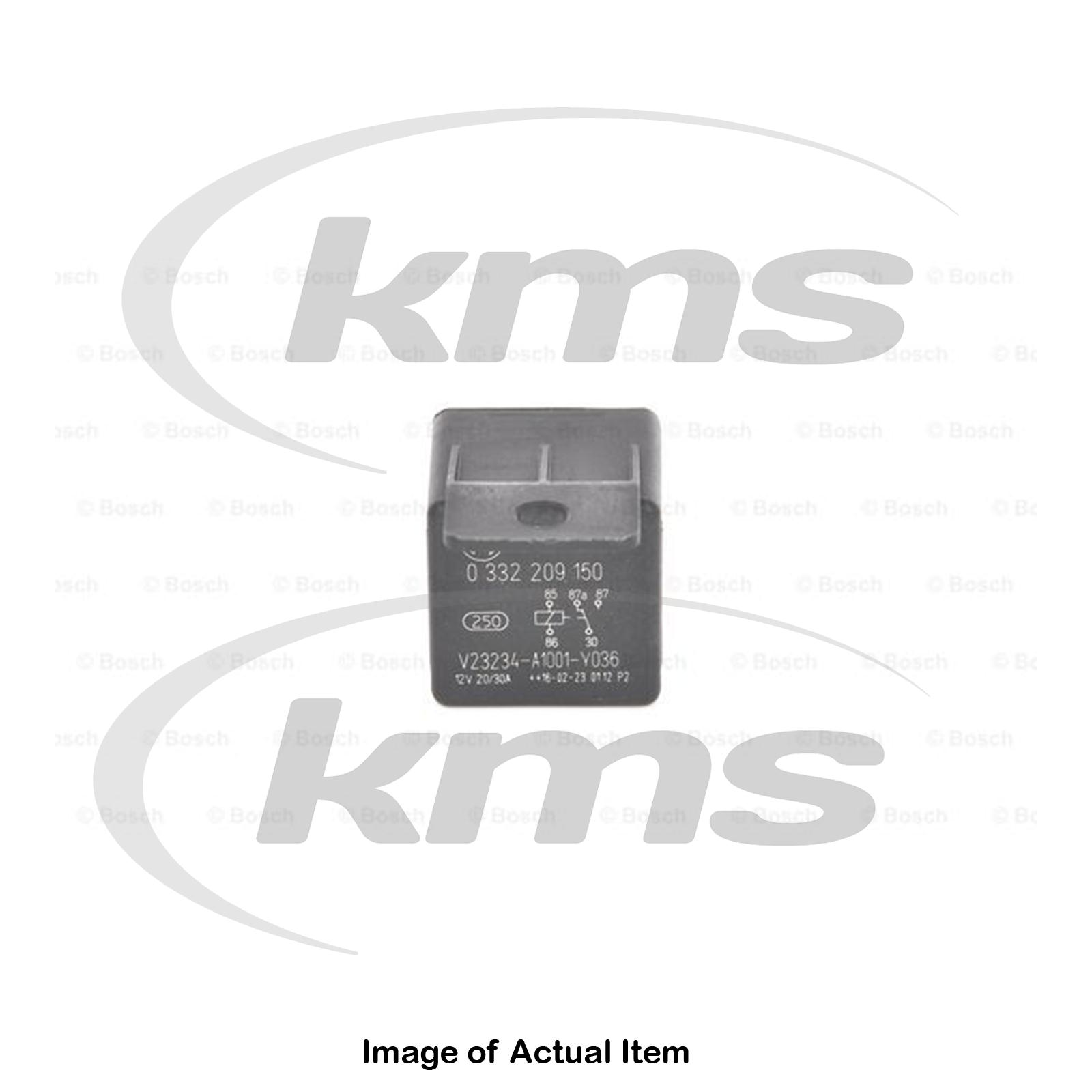 New Genuine BOSCH Main Current Relay 0 332 209 150 Top German ... on bosch relay bases, bosch relay holder, bosch relay 12v 30a, bosch relay configuration, bosch relay 510, bosch relay schematic, bosch relay test, bosch relay normally closed, bosch relay cross reference, bosch relay how works,