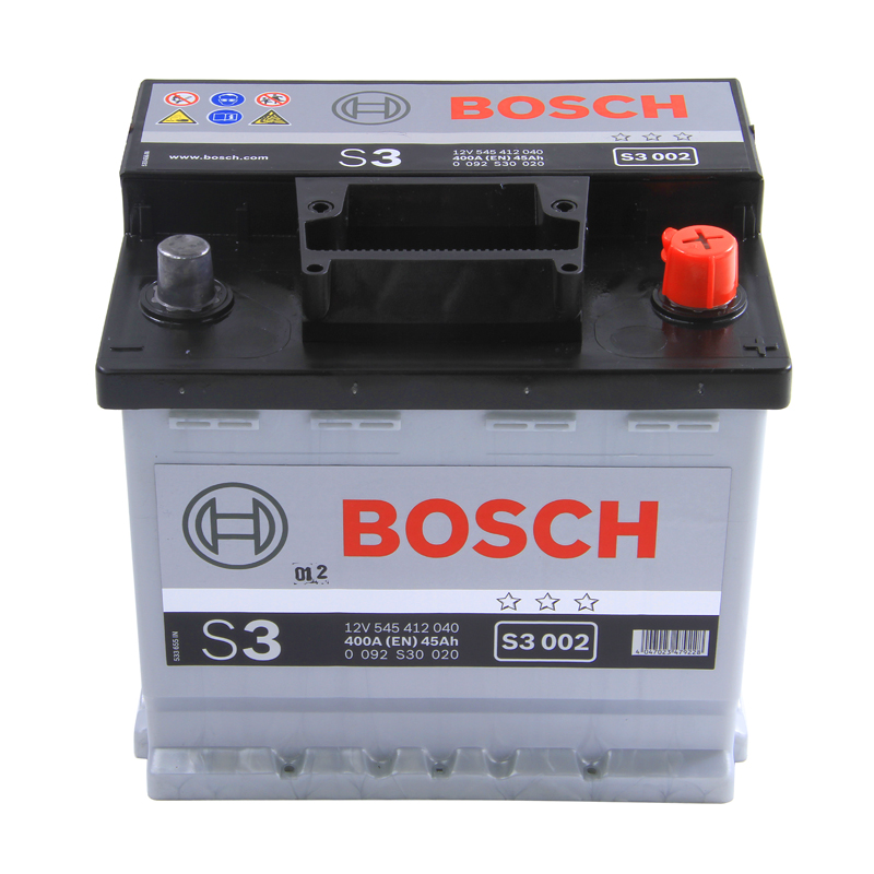 Type 063 Car Battery 420CCA Bosch 12V 45Ah 4 Years Wty Sealed OEM Replacement