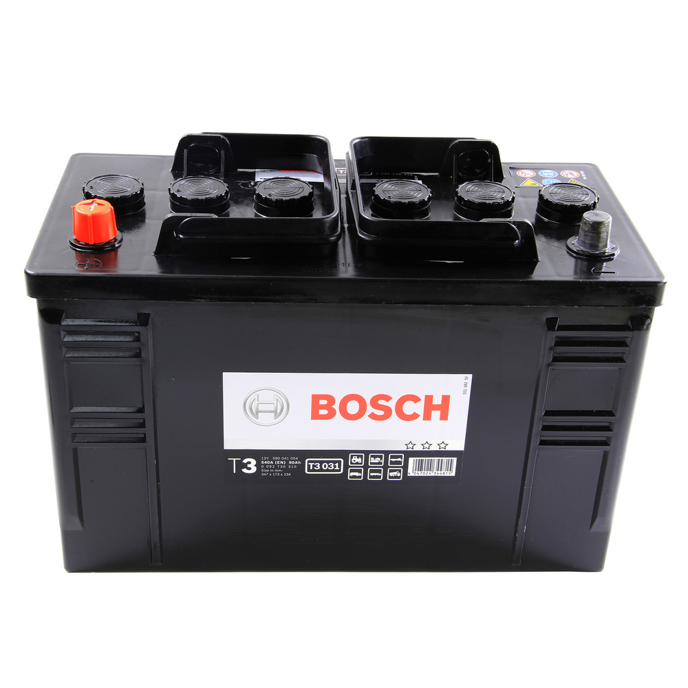 Bosch Commercial Battery 90Ah Type 644 540CCA 1/1 OEM Quality Replacement