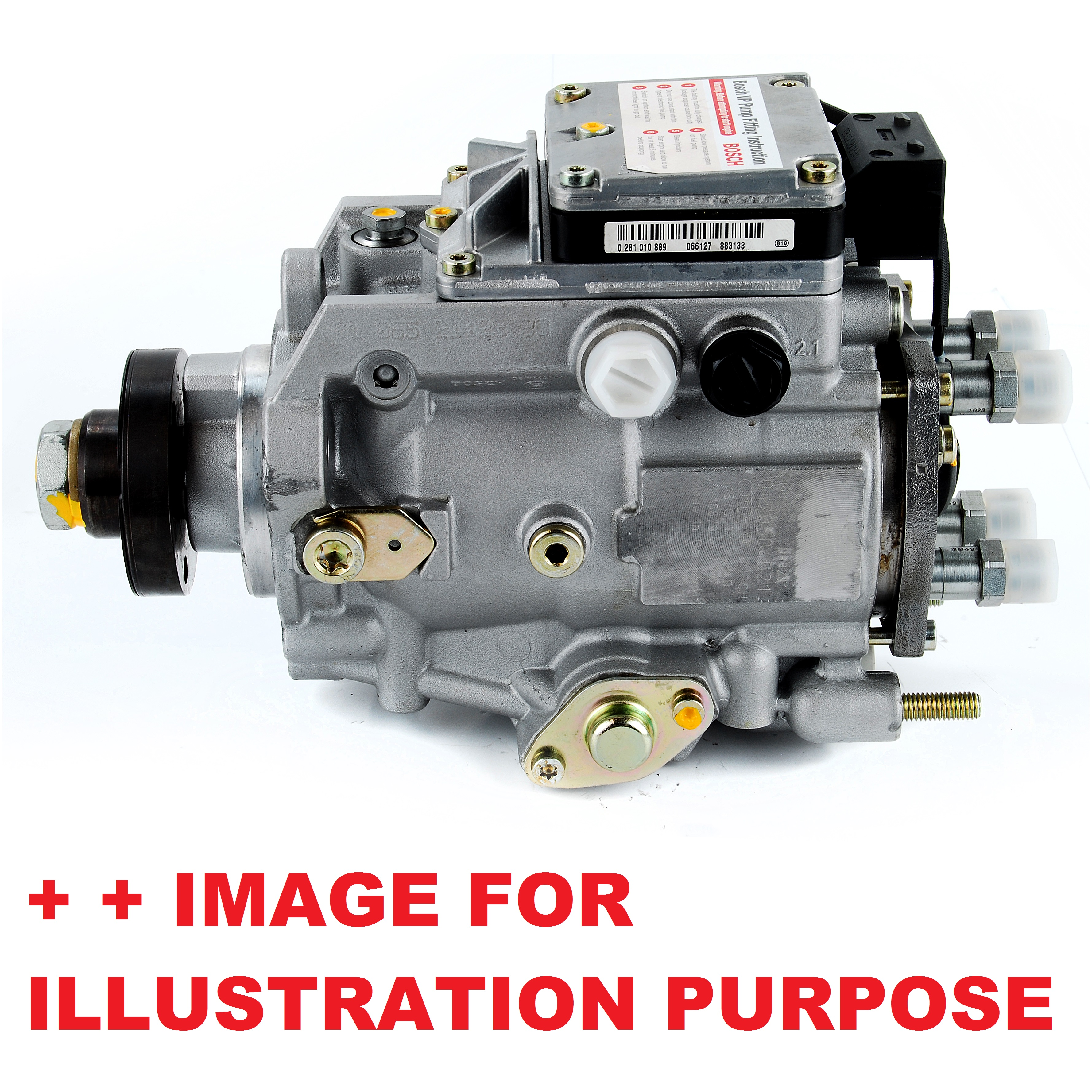 diesel fuel injection pump common rail high pressure replacement bosch 928400366 ebay. Black Bedroom Furniture Sets. Home Design Ideas