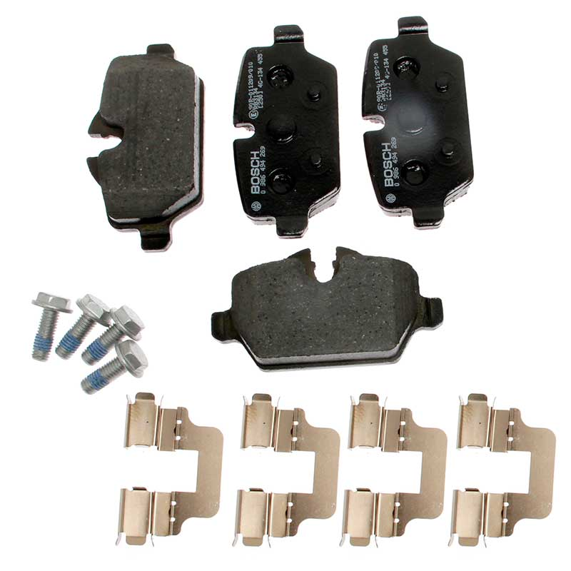 Lodal Front Axle Brake Shoes : Genuine bosch front rear axle brake pads kit