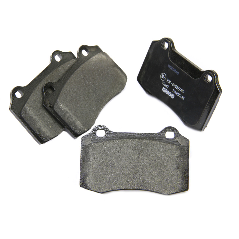 ford focus rs mk1 pagid pad set t1662 plaquettes frein avant brembo
