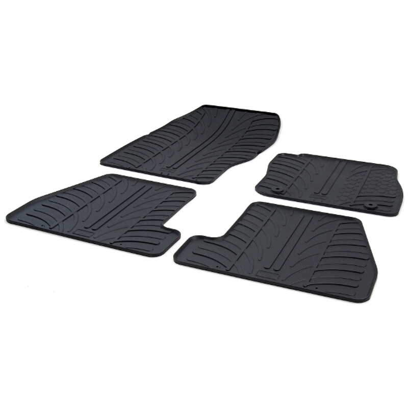 Tailored Fit Rubber Car Floor Mats Ford Focus MK3 11-On - Gledring RHD 0264  sc 1 st  eBay : ford focus car mats - markmcfarlin.com