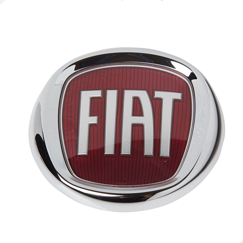 vm part 51932710 front bumper make badge car emblem logo fiat 500 07 on exterior ebay. Black Bedroom Furniture Sets. Home Design Ideas