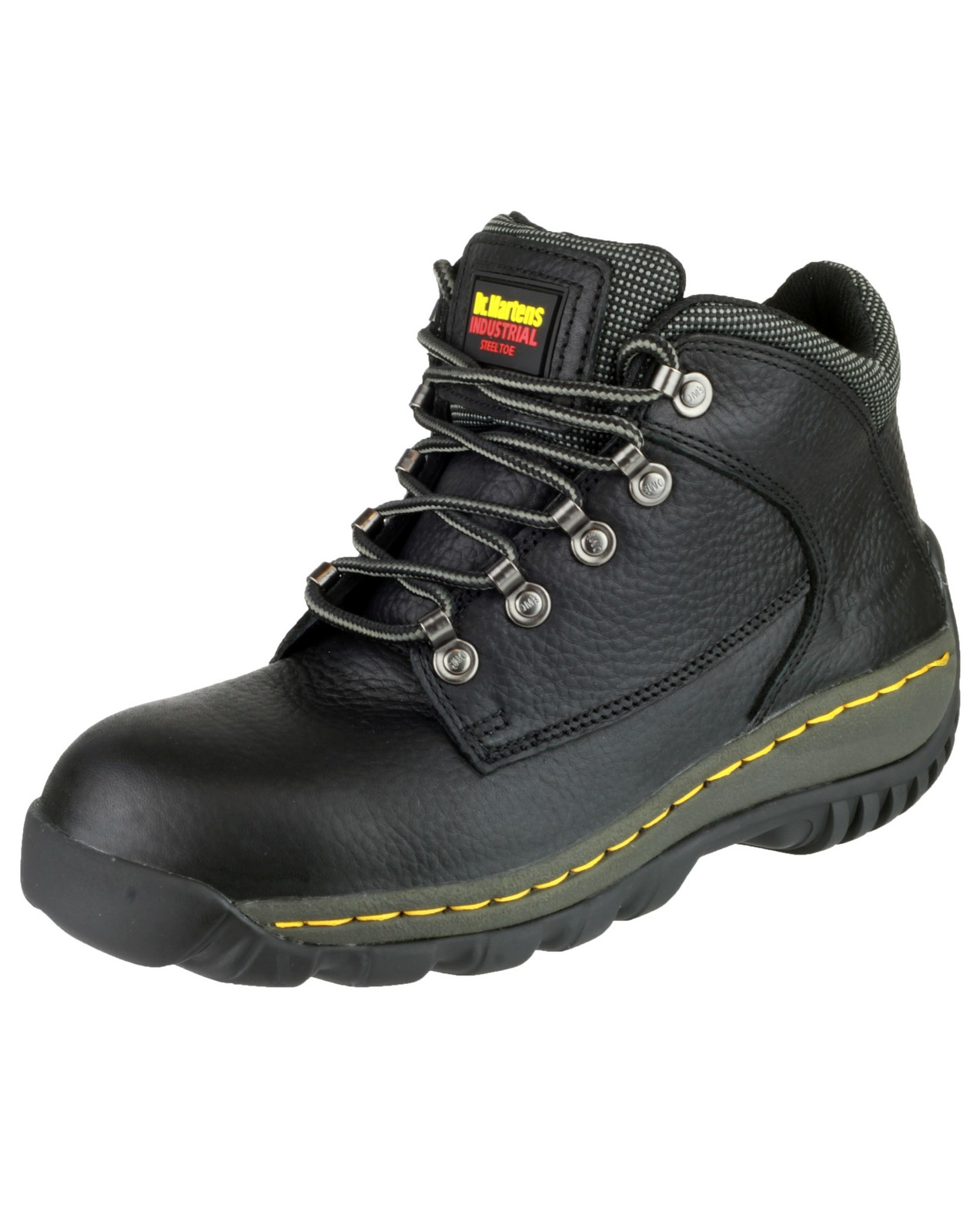 Doc Martin FS61 Mens Hiker Lace Up Black Safety Boot