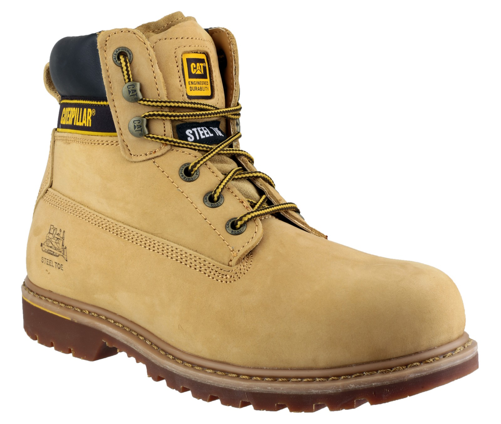 Caterpillar Holton Sb Mens Iconic Laced Comfortable Safety
