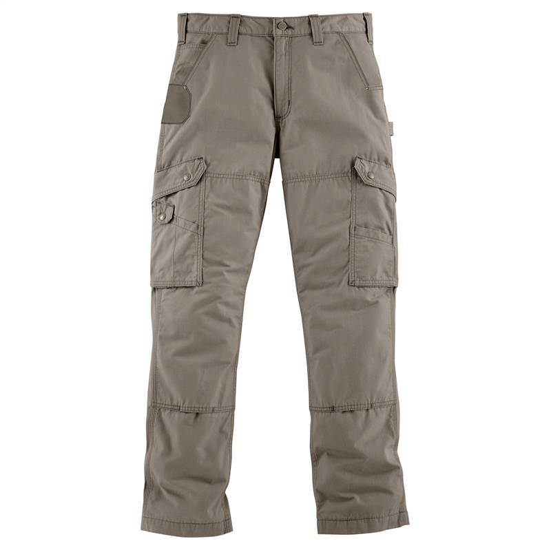 Work Ripstop Cargo Gravel Cordura Trousers Cotton B342 Carhartt With WAqOUn1pga
