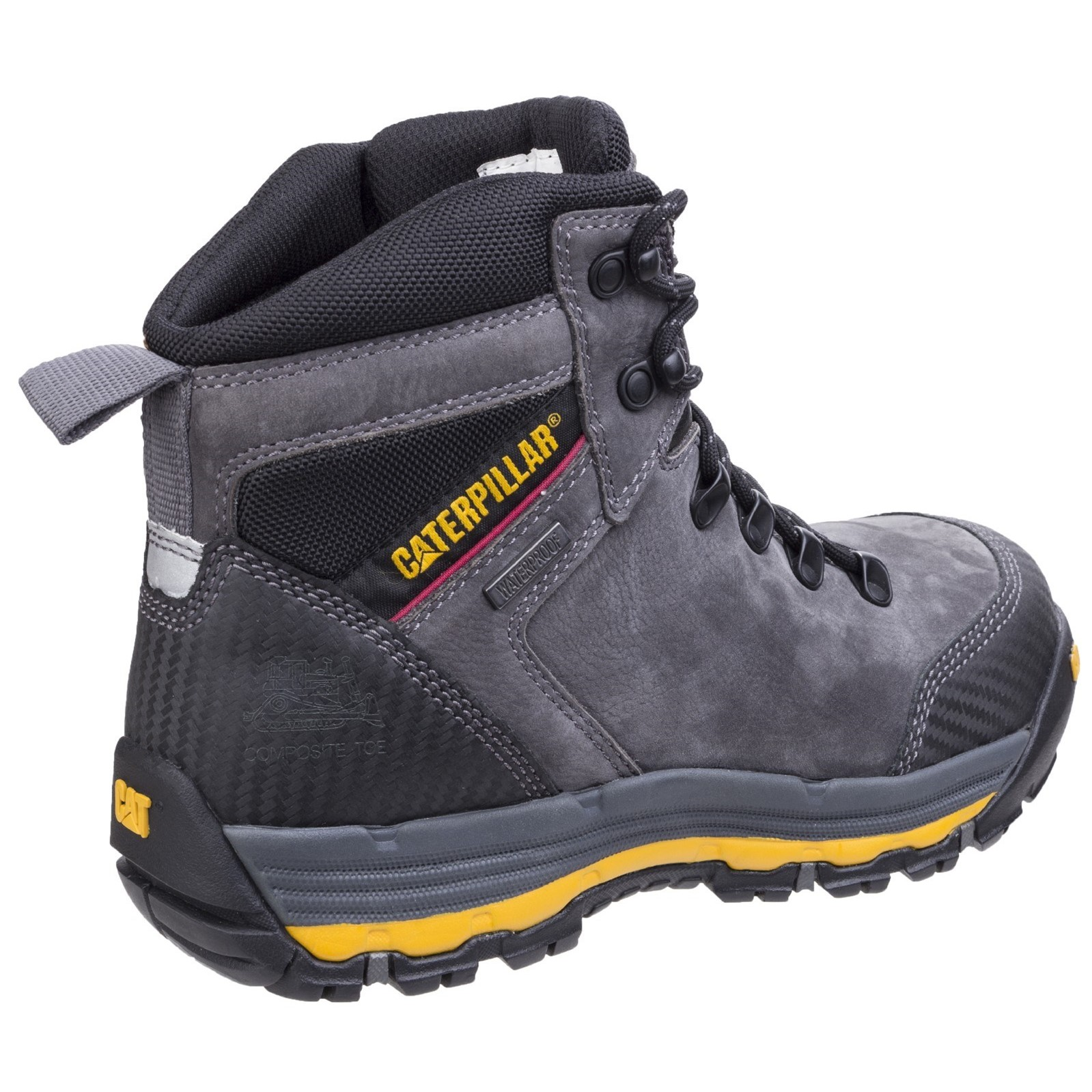 Work Boots & Shoes Caterpillar Cat Munising S3 Src Mens Steel Toe Cap Waterproof Safety Boots Ppe Personal Protective Equipment (ppe)