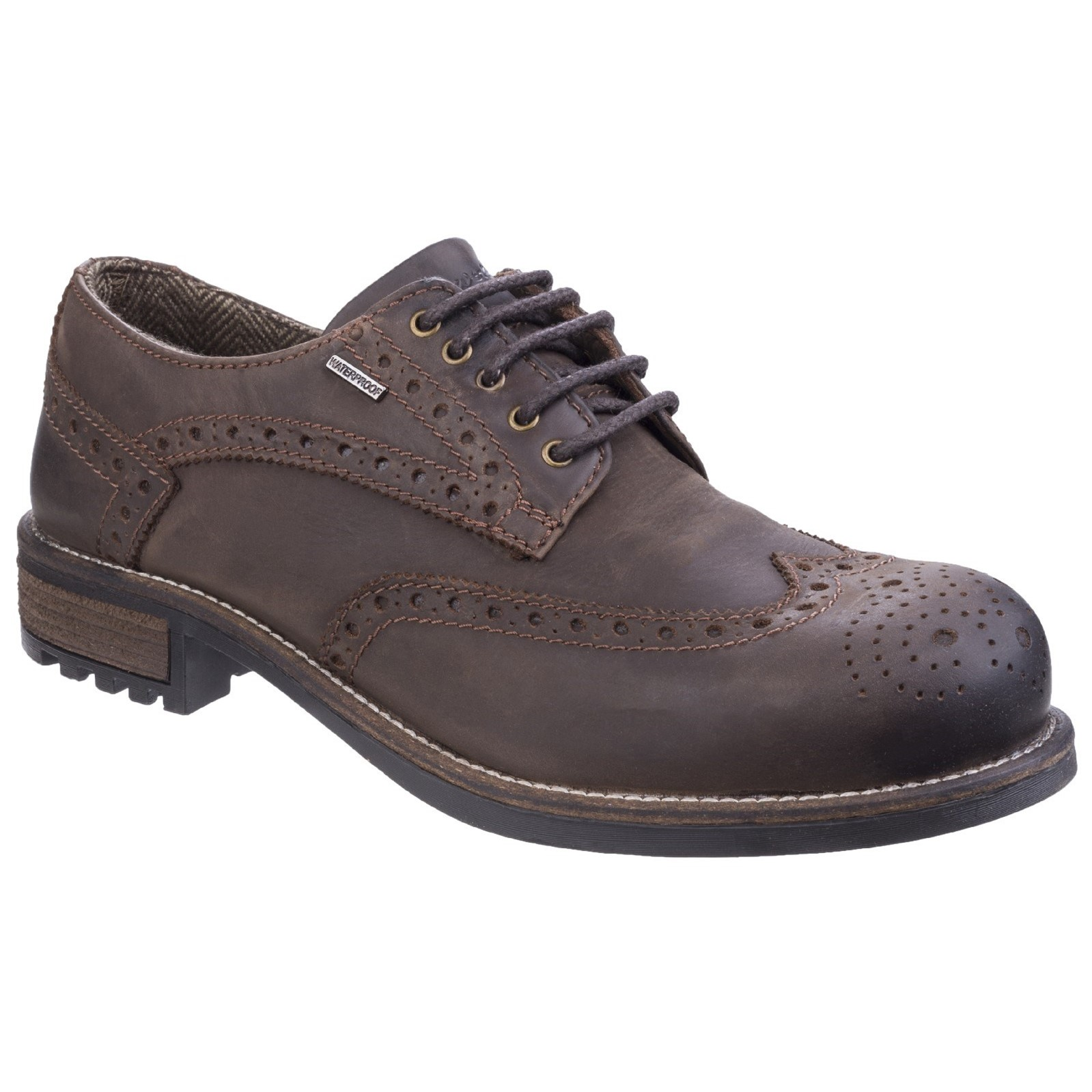 Scarpe casual da uomo  Cotswold Oxford allacciata confortevole impermeabile da uomo Scarpa oxford calata