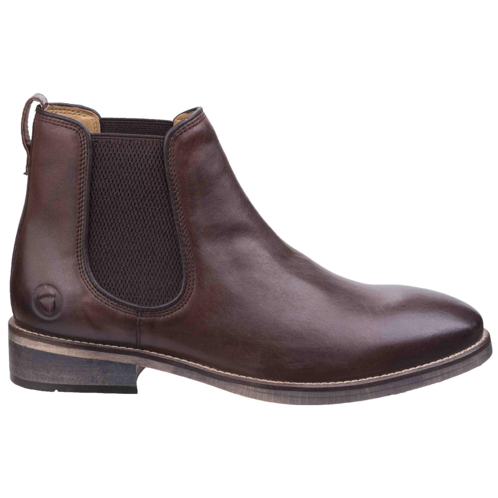 Cotswold Corsham Town Comfortable Leder Chelsea Leder Comfortable  Herren Stiefel e37362
