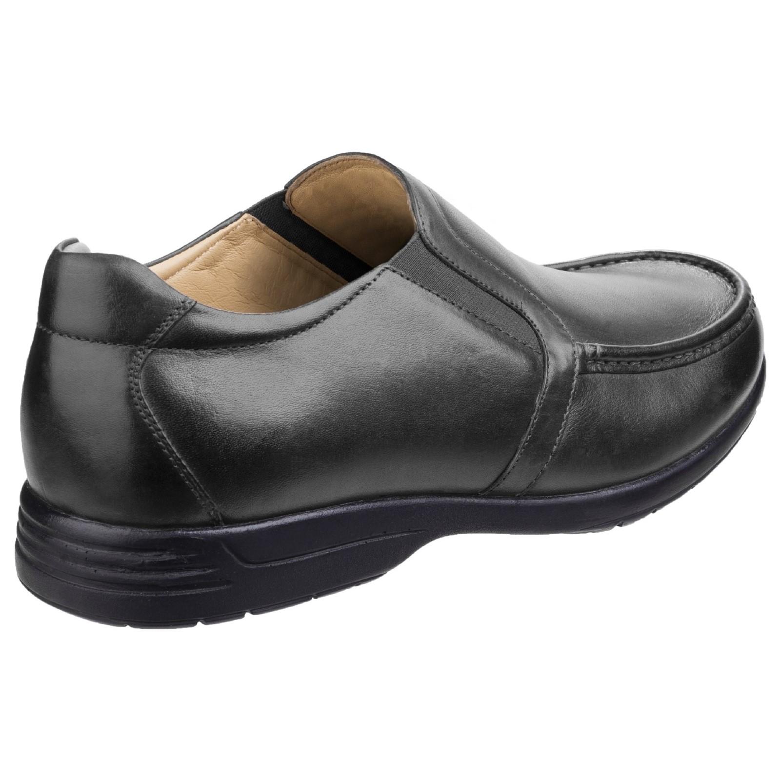 a2ab7b39 ... Fosster Gordon Dual Fit Fleet & & & Cierre Táctil Para Hombre Zapato  Mocasín 730e65 ...