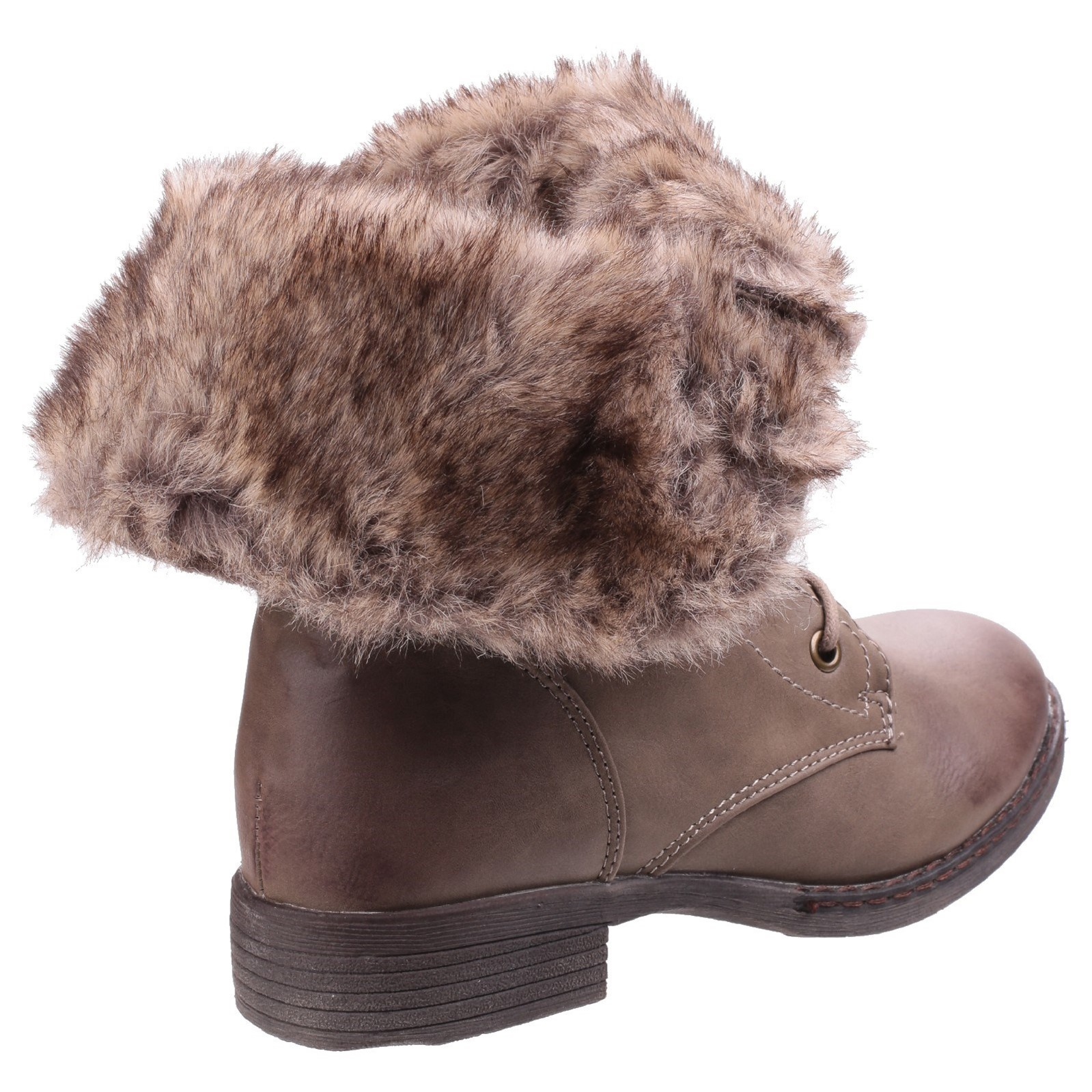 Divaz Leigh Cordones warmlined invierno señoras con Cordones Leigh Botín 23ad02