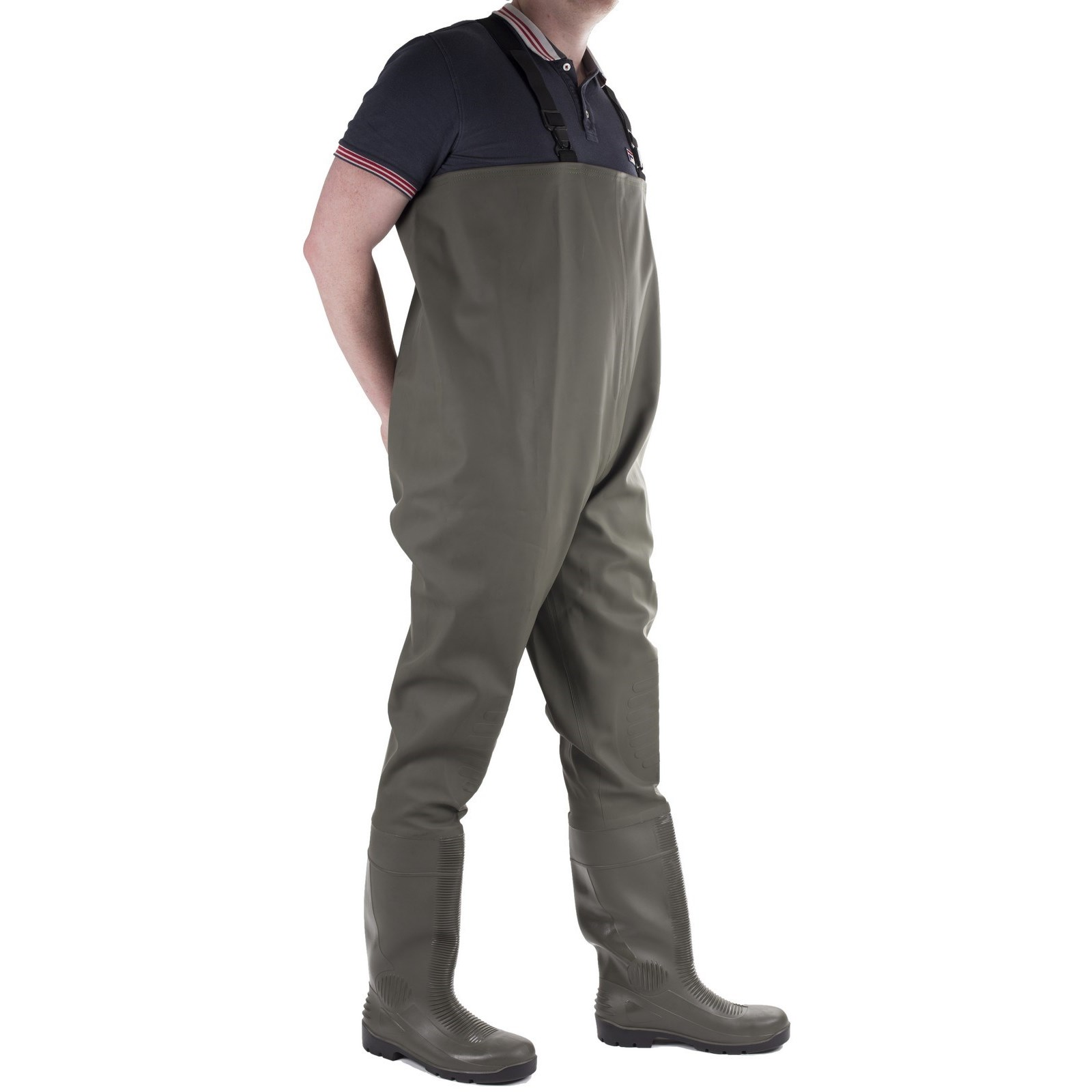 Wader Green Chest Tyne Long Comfortable Amblers Safety Dry vYq00n