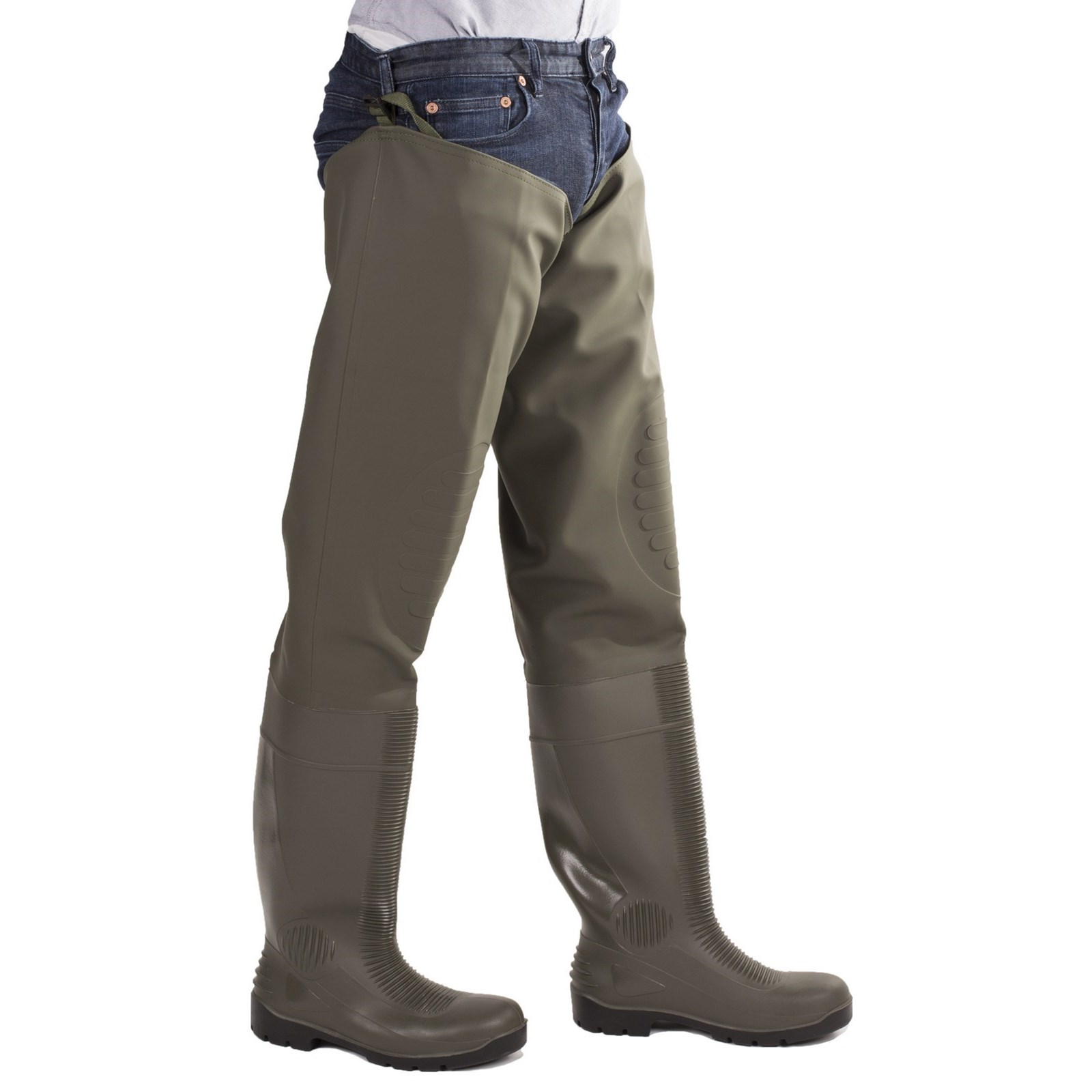 Long Wader Comfortable Safety Thigh Amblers Dry Green Forth qf4nzR