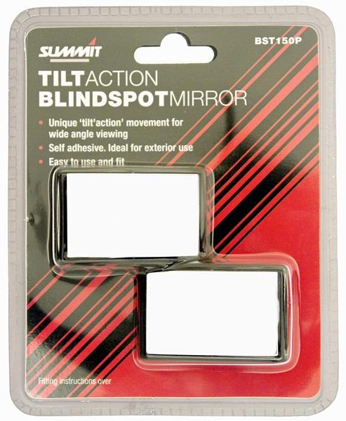 Summit bst150p Tilt Action Blind Spot Mirrors X 2 Pair