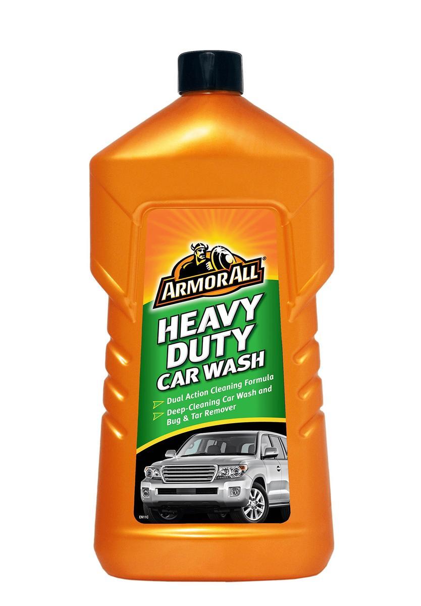 Armorall 26001ENO Car Cleaning Heavy Duty Slick Finish Wash Shampoo 1 Litre