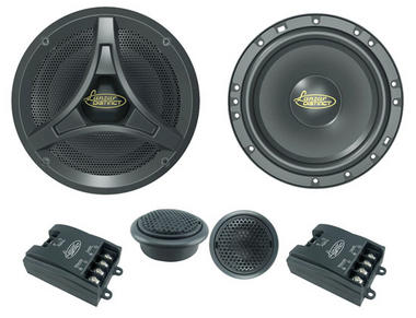 Lanzar DCT6KT Distinct 6.5-Inch 17cm 600w Car Door Speakers Component System Kit Thumbnail 2