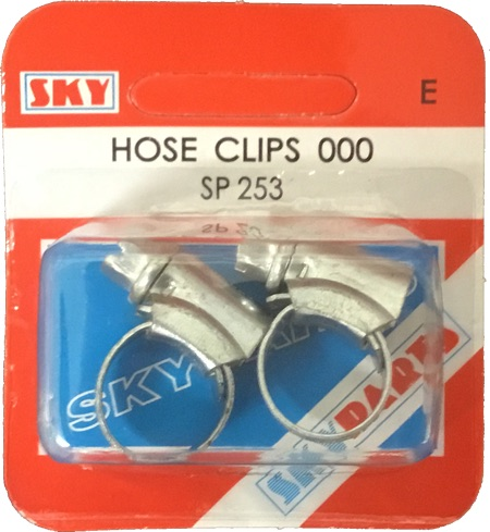 Sky Parts SP253 Car Van Automotive Accessory Hardware Hose Clip
