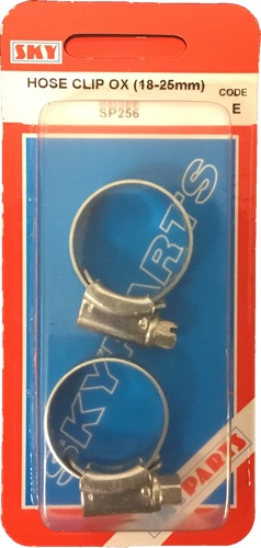 Sky Parts SP256 Car Van Automotive Accessory Hardware Hose Clip