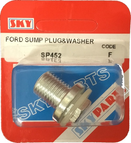 Sky Parts SP452 Car Van Automotive Accessory Hardware Ford Sump and Washer