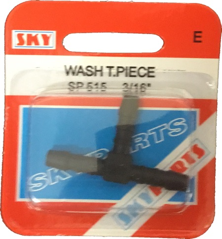 Sky Parts SP515 Car Van Automotive Accessory Hardware Washer T Piece 5mm