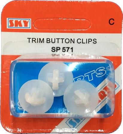 Sky Parts SP571 Car Van Automotive Accessory Hardware Trim Pad Clips