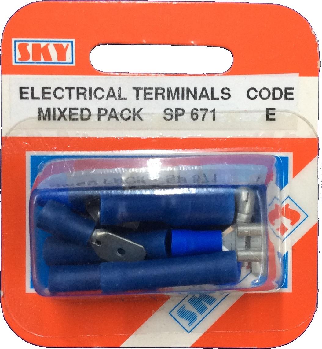Sky Parts SP671 Car Van Automotive Accessory Hardware Electrical Terms