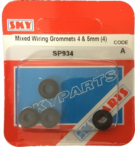 Sky Parts SP934 Car Van Automotive Accessory Hardware Wiring Grom 4mm & 5mm