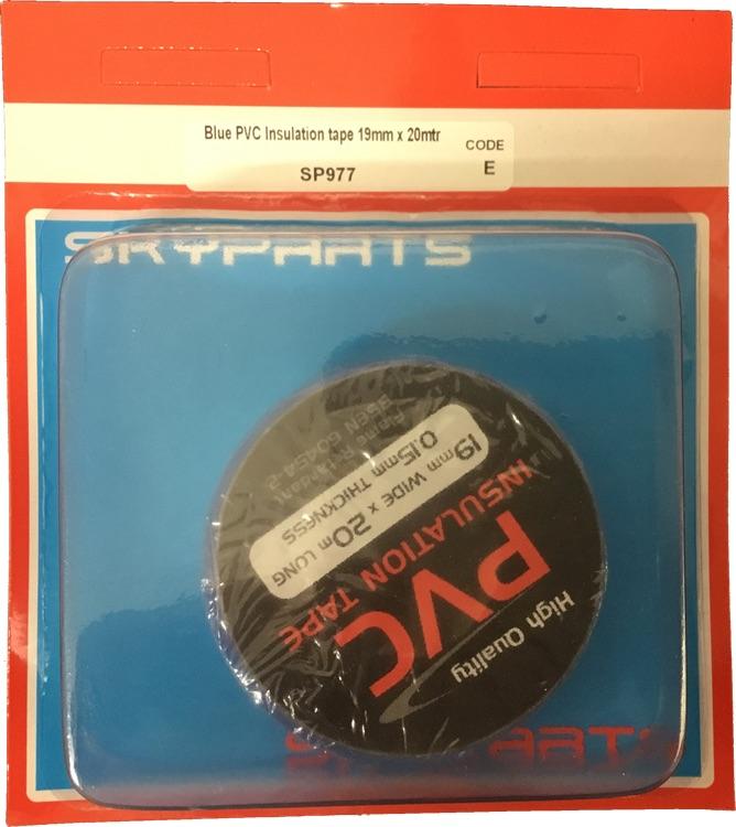 Sky Parts SP977 Car Van Automotive Accessory Hardware Blue Pvc Tape 19mm