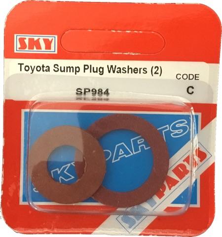 Sky Parts SP984 Car Van Automotive Accessory Hardware Toyato Sump And Washer