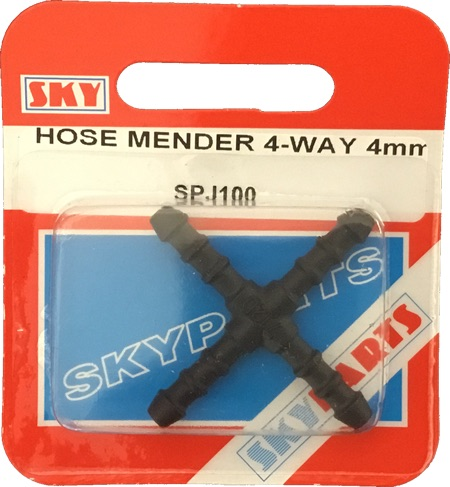 Sky Parts SPJ100 Car Van Automotive Accessory Hardware Hose Mender X - Piece