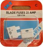 Sky Parts SP120 Car Van Automotive Accessory Hardware 12V Volts 25A Amps Blade Fuses
