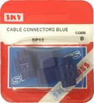 Sky Parts SP13 Car Van Automotive Accessory Hardware Cable Connector Blue
