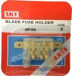 Sky Parts SP154 Car Van Automotive Accessory Hardware 12V Volts Blade Fuse Holder