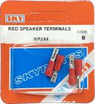 Sky Parts SP293 Car Van Automotive Accessory Hardware Red Speaker Terminal
