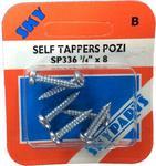 Sky Parts SP336 Car Van Automotive Accessory Hardware Self Tapper Pozi