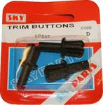 Sky Parts SP567 Car Van Automotive Accessory Hardware Trim Buttons