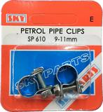 Sky Parts SP610 Car Van Automotive Accessory Hardware Petrol Pipe Clips 9-11mm
