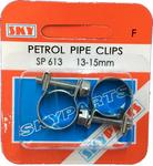 Sky Parts SP613 Car Van Automotive Accessory Hardware Petrol Pipe Clips 13-15mm