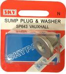 Sky Parts SP643 Car Van Automotive Accessory Hardware Vaxhaul Sump and Washer