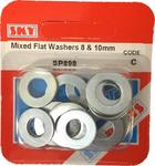 Sky Parts SP898 Car Van Automotive Accessory Hardware Flat Washers 8mm & 10mm