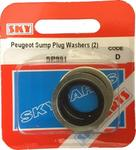 Sky Parts SP991 Car Van Automotive Accessory Hardware Peugeot Sump Plug Washer