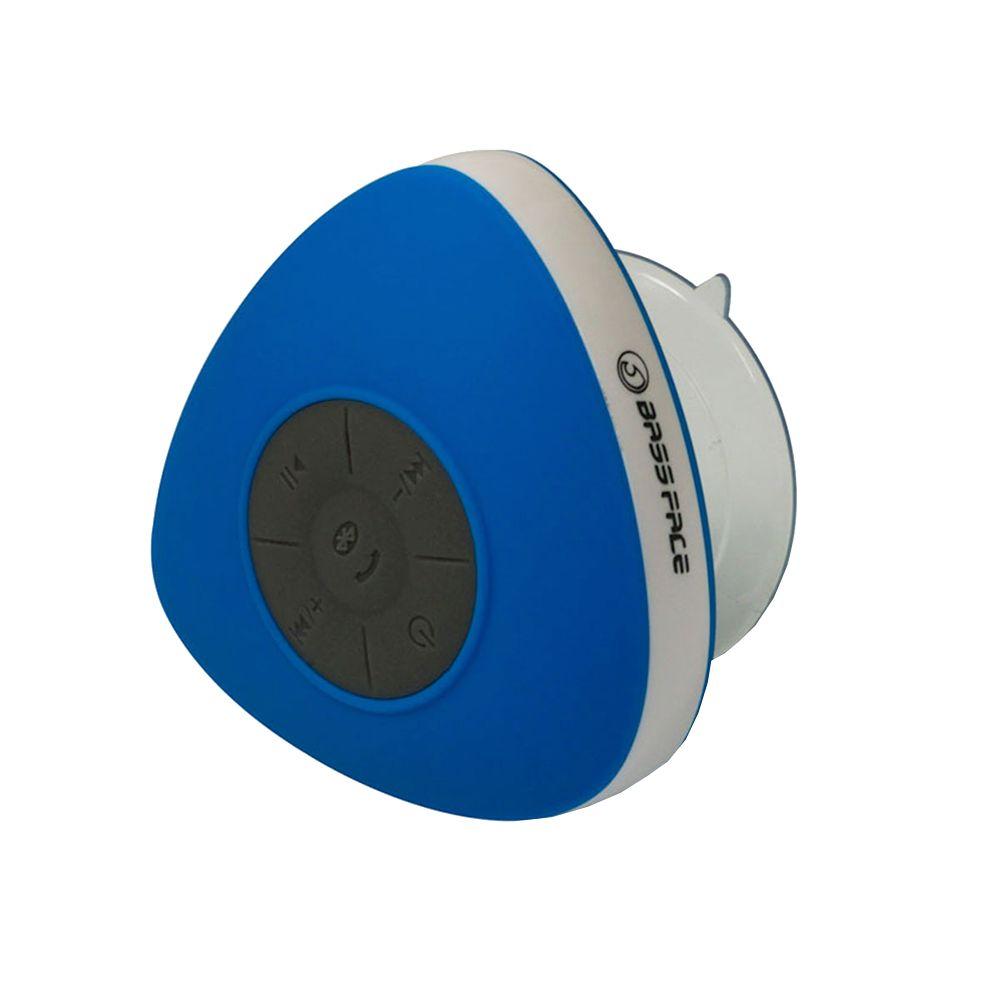 Bassface BTSW.1BLUE Waterproof Shower Bluetooth Speaker Iphone Android iPhone