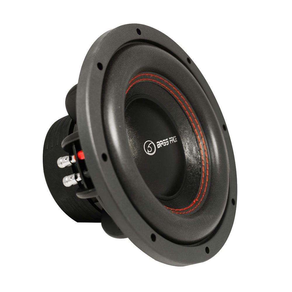 """Bassface SPL10.2 10"""" Inch 25cm 1400w Car Subwoofer 2x4Ohm DVC Sub Woofer SPL SQ"""